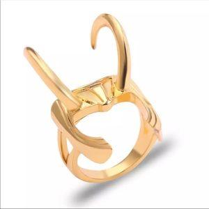 Marvel Loki Helmet Ring